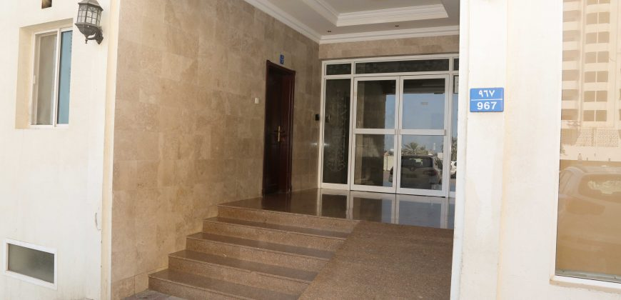 370 OMR – 2 Bed / 2 Bathroom apartment in AlKhuwair with family Community near Zawazi mosque ideal for families.